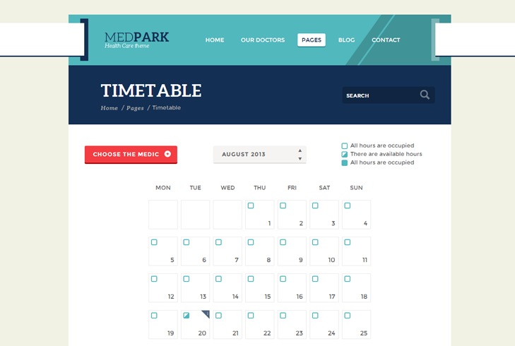 MedPark WP Theme slide4