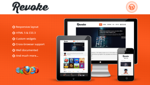 Revoke - Wordpress Premium Wordpress Theme