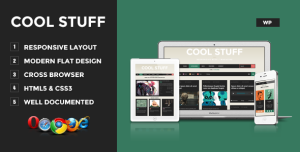 Cool Stuff - Premium Wordpress Theme