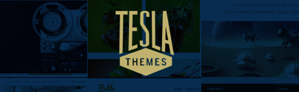 Premium WordPress Themes Club | TeslaThemes