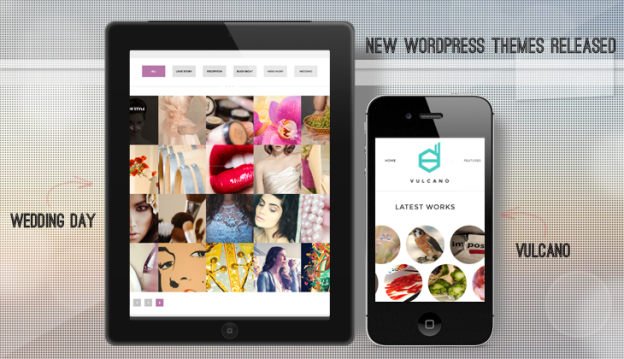 2 New WordPress Themes Released