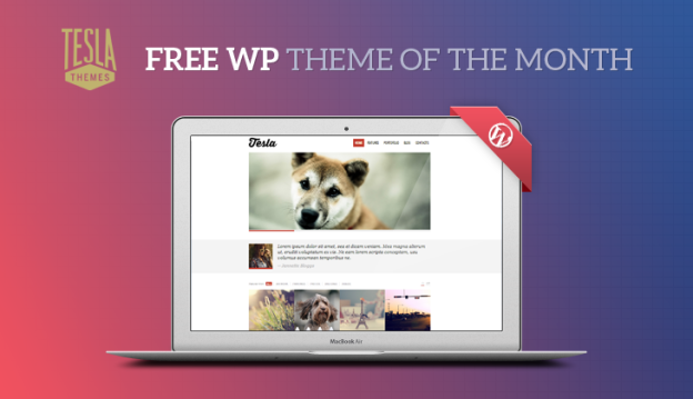 Free WordPress Theme of the month
