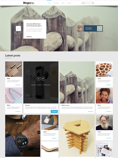 Blogojoy WP slider