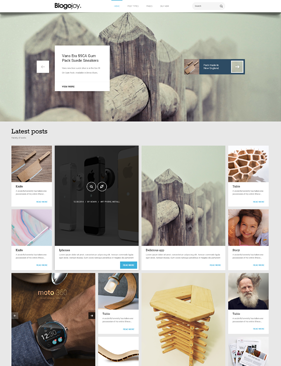 Blogojoy theme