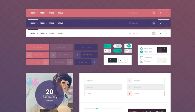 flat-design-ui-kit