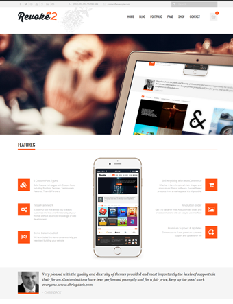 Revoke2 wp theme